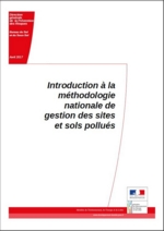 Couverture de l'Introduction à la méthodologie nationale de gestion des sites et sols pollués